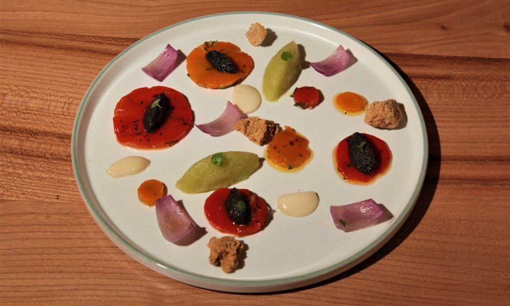 restaurant ebullition montpellier plat